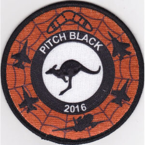 2016 Pitch Black round patch